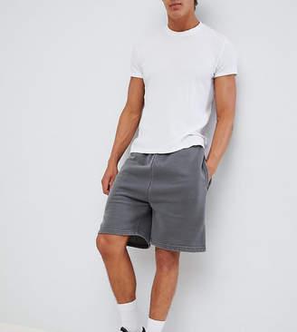 Reclaimed Vintage inspired overdye short in gray