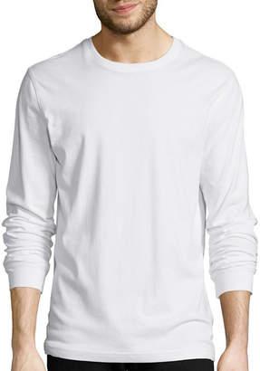 ST. JOHN'S BAY Long-Sleeve Crewneck T-Shirt