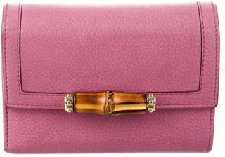 GucciGucci Bamboo Compact Wallet