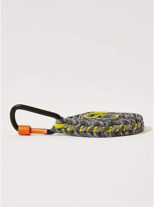 Topman Mens Multi Grey and Yellow Rope Belt