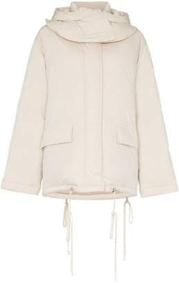 Helmut Lang padded front pockets puffer jacket