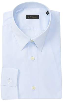Ermenegildo Zegna Solid Dress Shirt