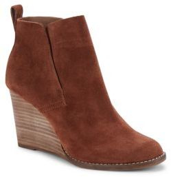 Yoniana Leather Wedge Boots $139 thestylecure.com