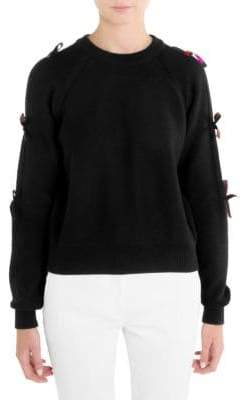 Emilio Pucci Wool Bow Sweater