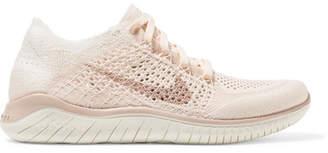 Nike Free Rn Flyknit 2018 Sneakers - Blush