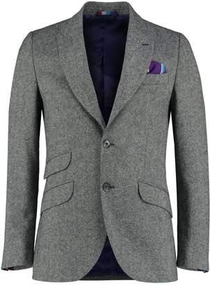 Koy Clothing - Grey Nusu Kamba Wool Blazer