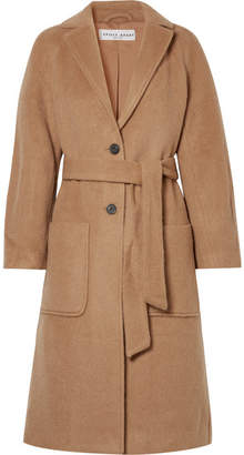 Apiece Apart Juul Brushed-felt Coat - Camel