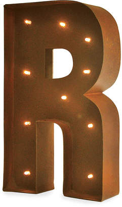 Vandue LED Vintage Wall-Mount Marquee Letter - R