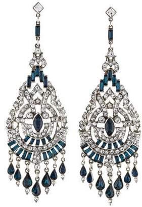 Ben-Amun Ben Amun Crystal Chandelier Earrings