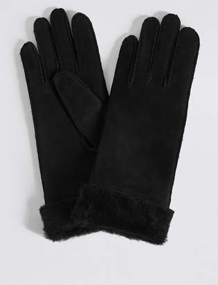 M&S CollectionMarks and Spencer Sheepskin Gloves