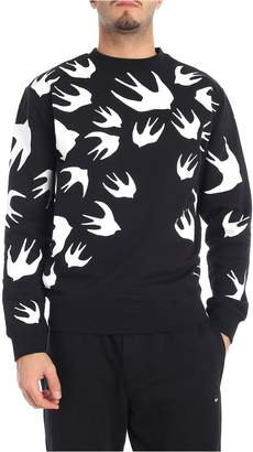 McQ Bird Print Sweatshirt