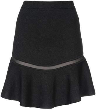 Alice + Olivia Alice+Olivia Daren ruffle mini skirt