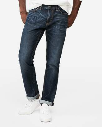 Express Slim Medium Wash 100% Cotton Jeans