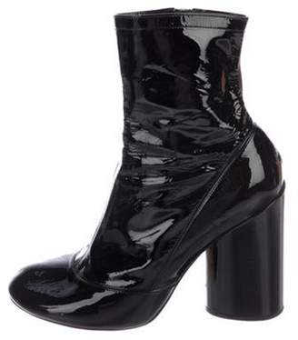 Marc Jacobs Round-Toe Ankle Boots Black Round-Toe Ankle Boots