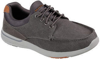 Skechers Elent Mens Oxford Shoes Pull-on