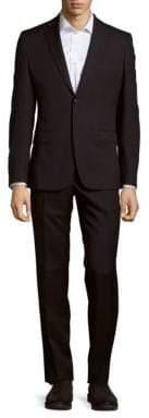 Versace Solid Formal Suit