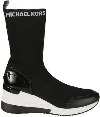 Michael Kors Grover Knit Ankle Boots