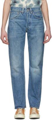 Levi's Clothing Blue 501 1947Jeans