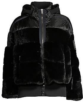 Bogner Women's Duna Mixed Media Faux Fur Puffer Jacket