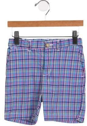 Polo Ralph Lauren Boys' Four Pocket Plaid Shorts
