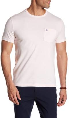 Original Penguin Short Sleeve Jaspe Pocket Tee
