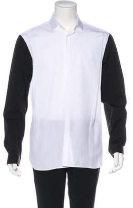 Neil Barrett Woven Dress Shirt