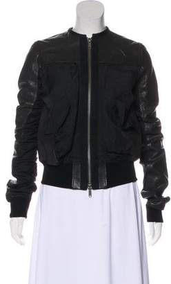 Haider Ackermann Leather Zip Jacket