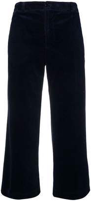 Aspesi cropped flared trousers
