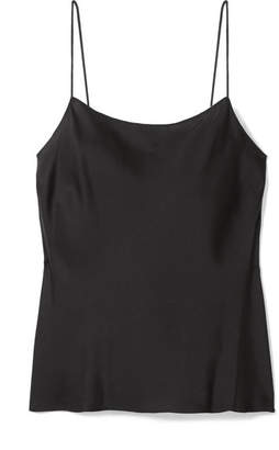 a01bd6cb705d2 Theory Teah Stretch-silk Camisole - Black
