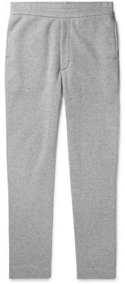 The Row La Slim-Fit Fleece-Back Cotton-Jersey Sweatpants