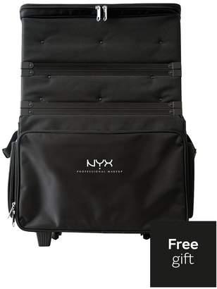 NYX Makeup Artist Train Case - 3 Tier Stackable