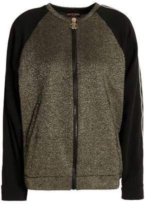 Roberto Cavalli Metallic Cotton-Blend Jacket
