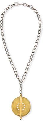 Hipchik Claudia Medallion Pendant Necklace
