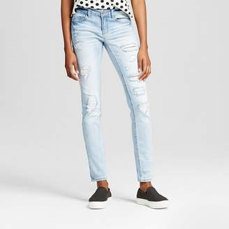 Dollhouse Women's Destructed 5 pocket with roll cuff - Dollhouse (Juniors') $32.99 thestylecure.com