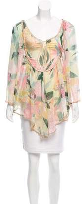 Missoni Floral Silk Blouse