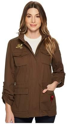 Vince Camuto 4-Pocket Patch Work Parka Women's Coat