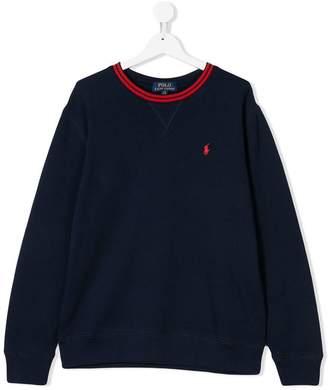 Ralph Lauren TEEN logo embroidered sweatshirt