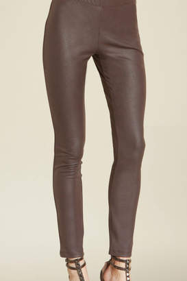 Clara Sunwoo Faux Leather Stretch Legging