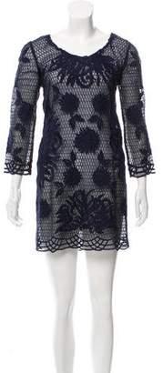 Yoana Baraschi Embroidered Mini Dress