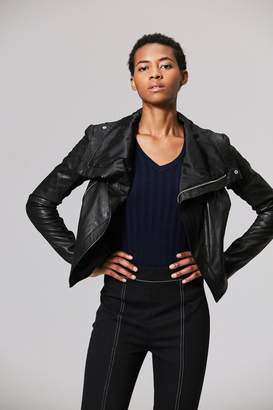 Veda Max Classic Smooth Jacket Black