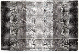Judith Leiber Couture Fizzoni Stripes Crystal Crossbody Bag