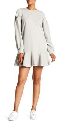 Rebecca Taylor Fleece Sweatshirt Dress