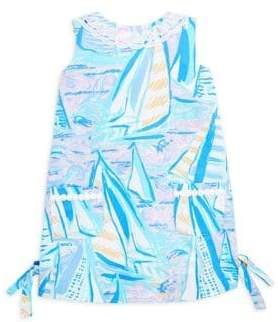 Lilly Pulitzer Little Girl's& Girl's Lilly Cotton Shift Dress