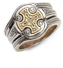 Konstantino Stavros Cross Signet Ring