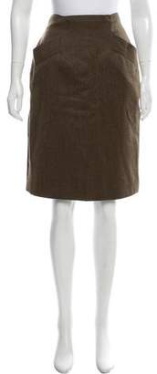 Max Mara Wool Pencil Skirt