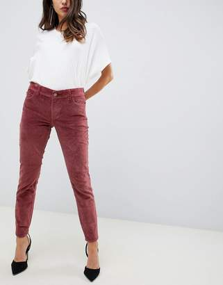 DL1961 margaux mid rise instasculpt ankle skinny jean