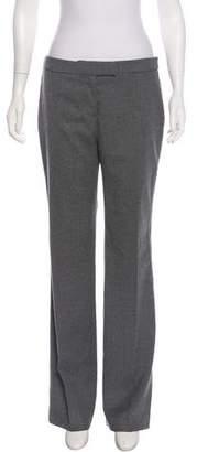 Alexander McQueen Wool Mid-Rise Pants