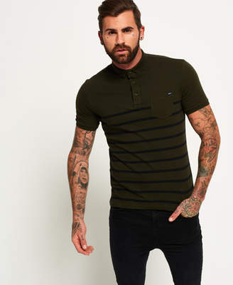 at Superdry Superdry City Case Pocket Jersey Polo Shirt