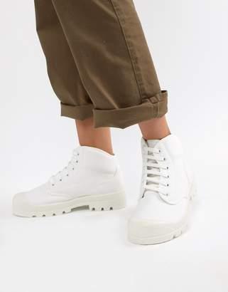 Asos DESIGN Dissolve lace up boots