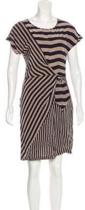 BCBGMAXAZRIA Giovanna Silk Dress